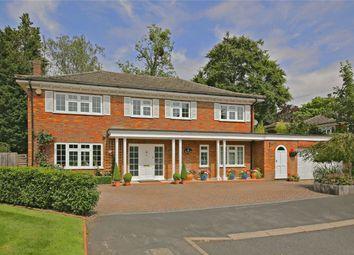 Thumbnail 4 bedroom detached house for sale in Lamorna Close, Radlett, Hertfordshire