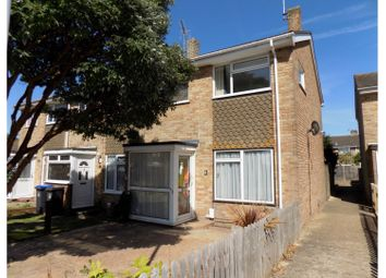 Thumbnail 3 bed end terrace house for sale in Coleridge Crescent, Worthing