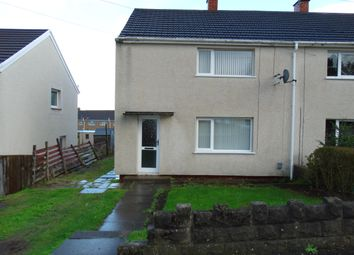 Thumbnail 2 bed semi-detached house to rent in Tynycae Road, Llansamlet, Swansea