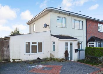 Thumbnail 3 bed end terrace house for sale in Burrow Road, Chigwell, Essex