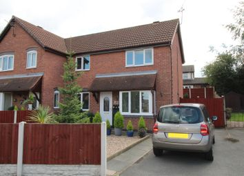 Thumbnail 3 bedroom semi-detached house for sale in Manor Close, Worksop