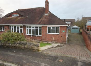 Thumbnail 2 bed bungalow for sale in Brookside Close, Newcastle-Under-Lyme