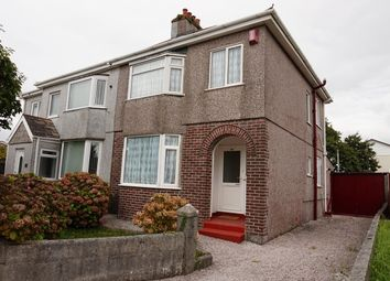 Thumbnail 3 bed semi-detached house for sale in Crownhill Road, Plymouth