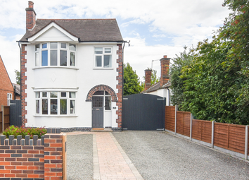 Thumbnail 3 bed detached house for sale in Grove Road, Blaby, Leicester