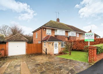 Thumbnail 3 bedroom semi-detached house for sale in Merryfield Drive, Horsham, West Sussex