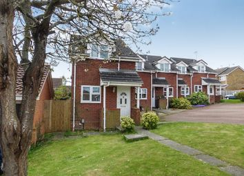 Thumbnail 1 bedroom end terrace house for sale in Colmworth Close, Lower Earley, Reading