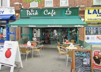 Thumbnail Restaurant/cafe for sale in 163 Thornbury Road, London
