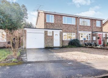 Thumbnail 3 bed semi-detached house for sale in Constable Avenue, Eaton Ford, St. Neots