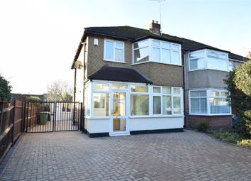 Thumbnail 4 bed semi-detached house to rent in Pinner Road, Pinner