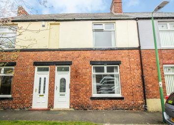 Thumbnail 2 bedroom terraced house for sale in Garden Place, Consett, Durham