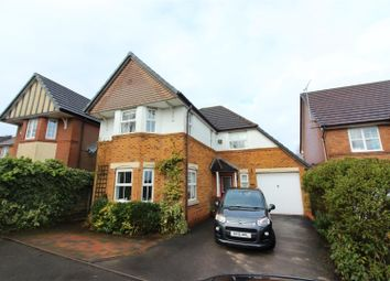 Thumbnail 4 bed detached house for sale in Princetown Close, Longton, Stoke-On-Trent