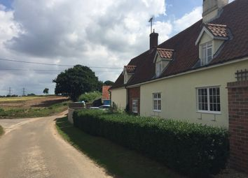 Thumbnail 1 bed flat to rent in Church Cottage, Blaxhall, Woodbridge
