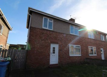 Thumbnail 2 bedroom semi-detached house to rent in Twentieth Avenue, Blyth