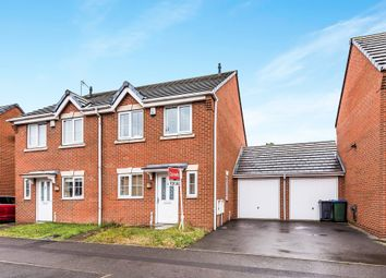 Thumbnail 3 bedroom semi-detached house for sale in Finchpath Road, West Bromwich