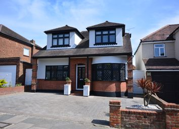 Thumbnail 4 bed detached house for sale in Lodge Avenue, Gidea Park, Romford