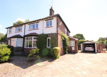Thumbnail 3 bed semi-detached house for sale in Brookfield Avenue, Timperley, Altrincham