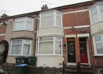 Thumbnail 2 bed terraced house for sale in Kingsland Avenue, Chapelfields, Coventry