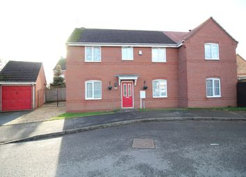 Thumbnail 4 bed detached house for sale in Celandine Way, Bedworth