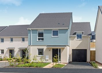 "Thumbnail 4 bed link-detached house for sale in ""The Parkham"" at Primrose, Weston Lane, Totnes"