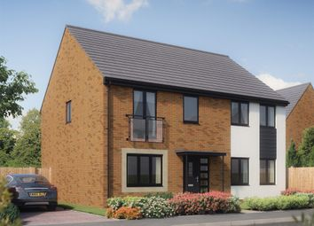 "Thumbnail 5 bed detached house for sale in ""The Holborn"" at Bridge Road, Old St. Mellons, Cardiff"