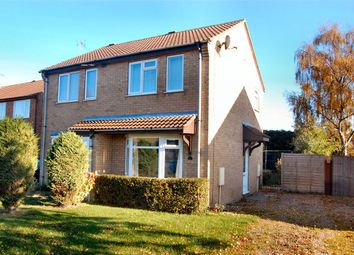 Thumbnail 2 bed semi-detached house to rent in Roxholm Close, Ruskington, Sleaford