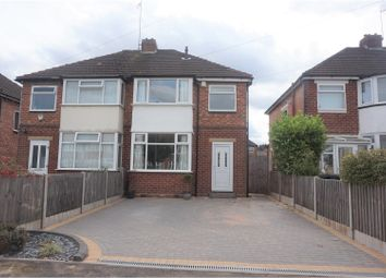 Thumbnail 3 bed semi-detached house for sale in Harvard Road, Solihull