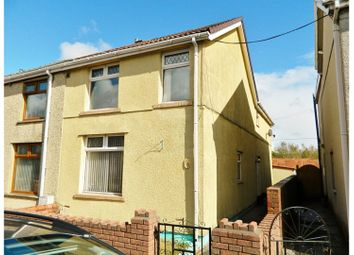 Thumbnail 3 bed end terrace house for sale in Park View, Tredegar