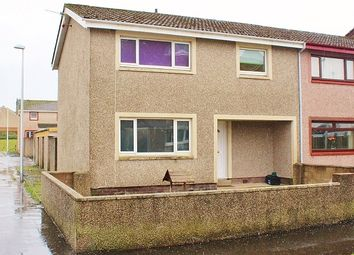 Thumbnail 3 bed end terrace house for sale in 31 Old Port Avenue, Stranraer