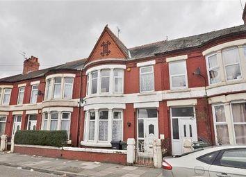 Thumbnail 4 bedroom terraced house for sale in Mainwaring Road, Wallasey