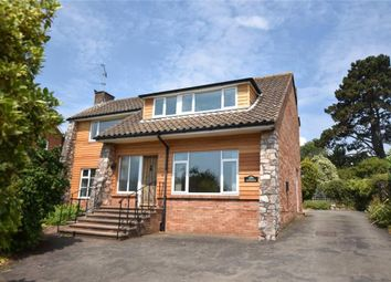 Thumbnail 4 bed detached house to rent in Maer Vale, Exmouth, Devon