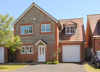 Thumbnail 4 bed detached house for sale in Blueberry Gardens, Andover