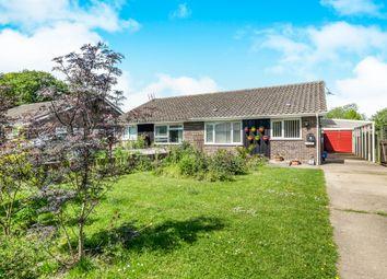 Thumbnail 3 bed semi-detached bungalow for sale in Chapelfield, Denton, Harleston