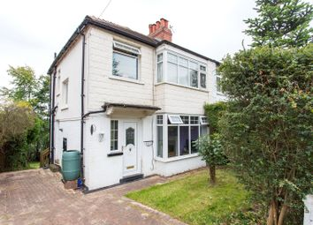 Thumbnail 3 bed semi-detached house for sale in Roundhay Crescent, Leeds, West Yorkshire
