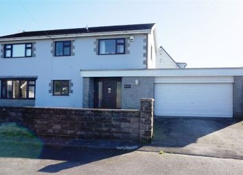 Thumbnail 4 bed detached house for sale in Ton Kenfig, Bridgend