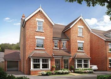 Thumbnail 4 bed town house for sale in Cherry Orchard, Lichfield