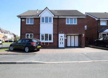 Thumbnail 5 bed detached house for sale in Peregrine Crescent, Droylsden, Manchester, Greater Manchester