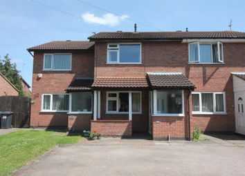 Thumbnail 2 bed town house for sale in Walcote Close, Hinckley