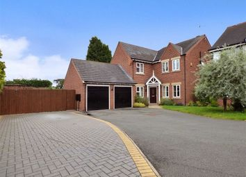 Thumbnail 5 bed detached house for sale in Cappelle Rise, Audley, Stoke-On-Trent