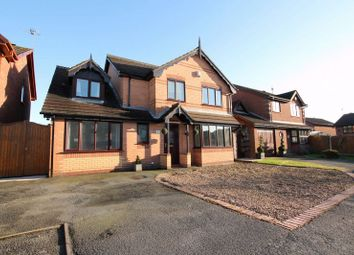 Thumbnail 4 bed detached house for sale in Linnet Way, Biddulph, Stoke-On-Trent