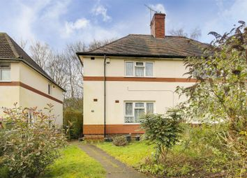 Thumbnail 2 bed semi-detached house for sale in Longford Crescent, Bulwell, Nottinghamshire