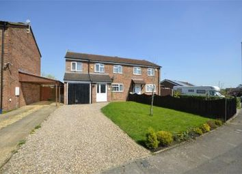 Thumbnail 3 bed semi-detached house for sale in Mcinnes Way, Raunds, Northamptonshire