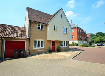 Thumbnail 4 bed detached house for sale in Rose Allen Avenue, Colchester