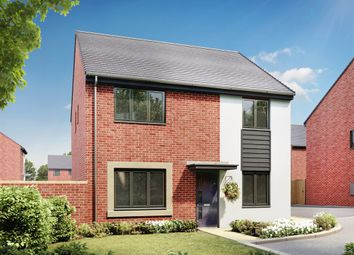 "Thumbnail 4 bedroom detached house for sale in ""The Knightsbridge"" at Llantrisant Road, Capel Llanilltern, Cardiff"