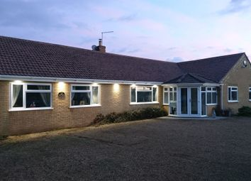 Thumbnail 4 bedroom detached bungalow for sale in Cross Road, Baston, Peterborough