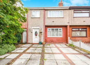 Thumbnail 3 bed semi-detached house for sale in Poplar Grove, Whiston, Prescot