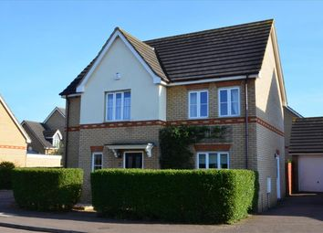 Thumbnail 4 bed detached house for sale in Titchmarsh Close, Royston