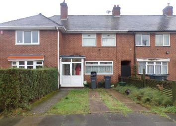Thumbnail 4 bed terraced house for sale in Burnel Road, Weoley Castle, Birmingham, West Midlands