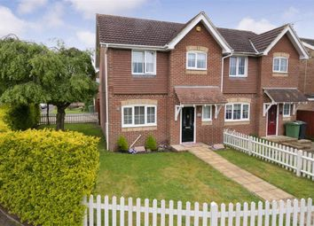 Thumbnail 3 bed semi-detached house for sale in Bell Way, Kingswood, Maidstone, Kent
