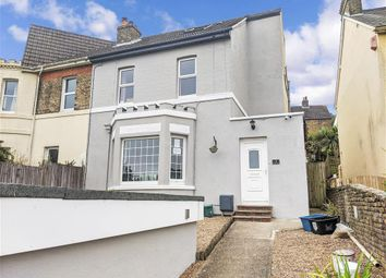 Thumbnail 4 bed semi-detached house for sale in Churchill Road, Dover, Kent