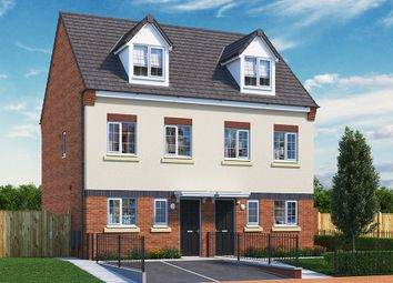 """Thumbnail 3 bed property for sale in """"The Kepwick"""" at Wellington Road, Hanley, Stoke-On-Trent"""